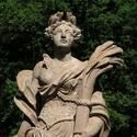 Ceres-Statue im Irrgarten