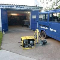 Ausrüstungsgegenstände Wasserwehr Retzau